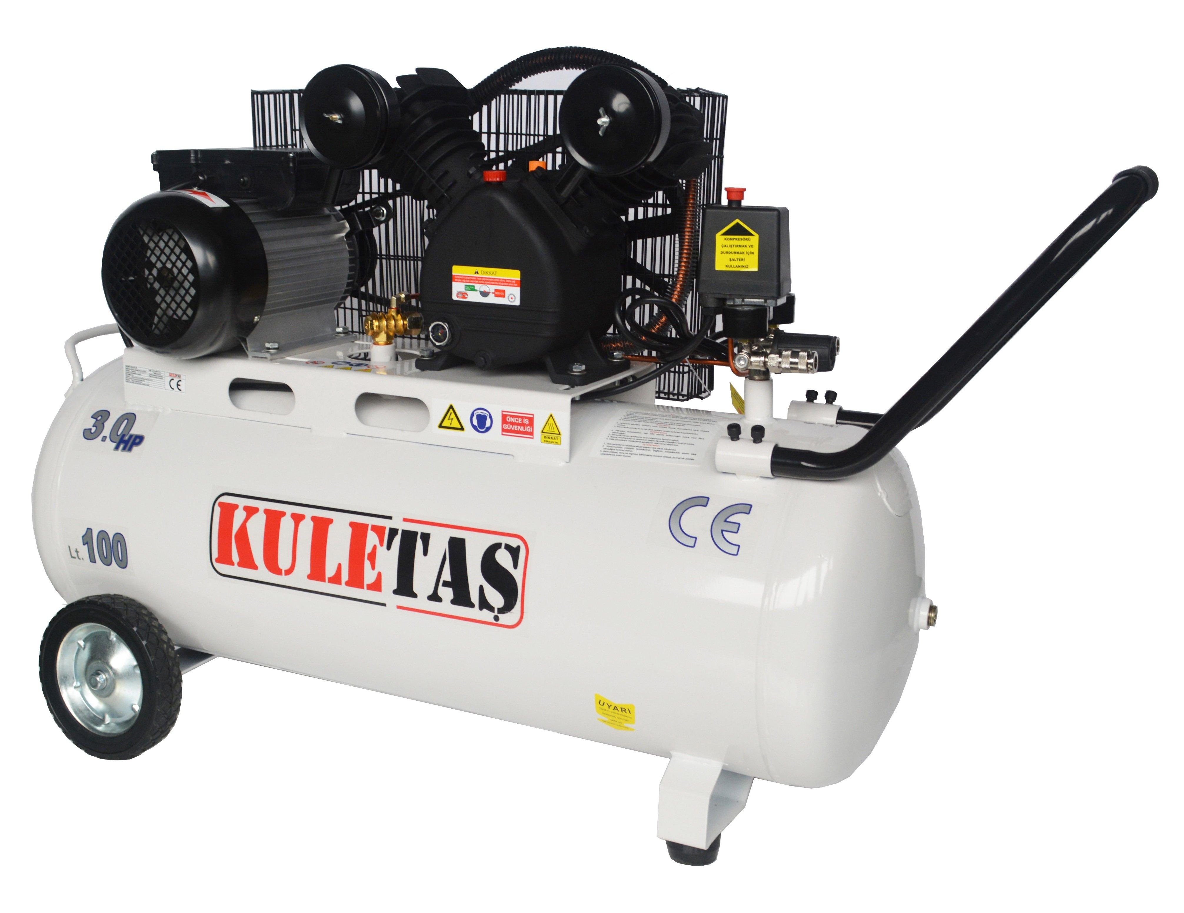 100 litre hava kompresörü, 100 litre kompresör, kompresör 100 litre
